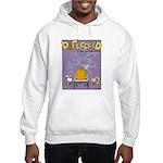 Deflocked Pumpkin Hooded Sweatshirt