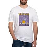 Deflocked Pumpkin Fitted T-Shirt