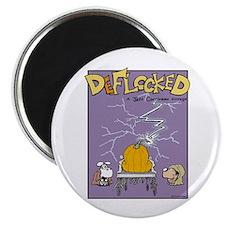 Deflocked Pumpkin Magnet