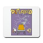 Deflocked Pumpkin Mousepad