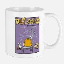 Deflocked Pumpkin Mug