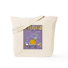 Deflocked Pumpkin Tote Bag