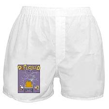 Deflocked Pumpkin Boxer Shorts