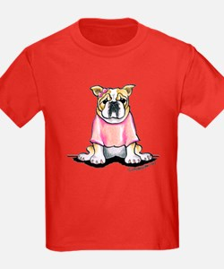 Girly Bulldog T