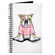 Girly Bulldog Journal