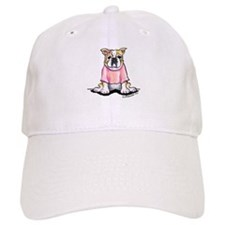 Girly Bulldog Baseball Cap