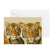"""Two Tigers"" Blank Cards (Pk of 10)"