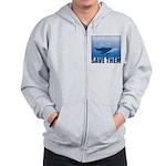 Save The Whales Zip Hoodie