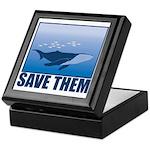 Save The Whales Keepsake Box