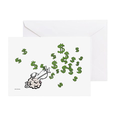 Mamet Money Greeting Card