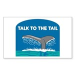 Whale Sticker (Rectangle)