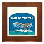 Whale Framed Tile