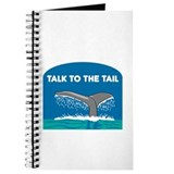 Talk to the hand Journals & Spiral Notebooks