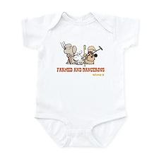 Farmed and Dangerous Infant Bodysuit