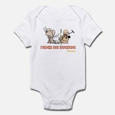 Farmed and Dangerous Infant Bodysuit