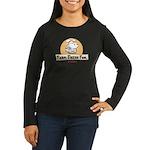 Farm Fresh Fool Women's Long Sleeve Dark T-Shirt