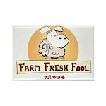 Farm Fresh Fool Rectangle Magnet