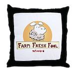 Farm Fresh Fool Throw Pillow