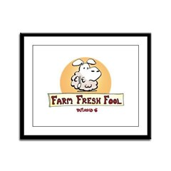 Farm Fresh Fool Framed Panel Print