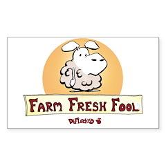 Farm Fresh Fool Decal