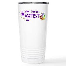 Yes, I Am an Artist Travel Mug