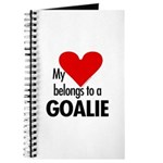 Heart belongs, goalie Journal