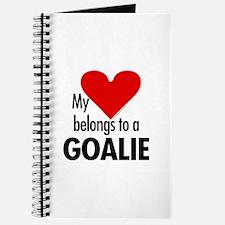 Heart belongs, goalie Journal