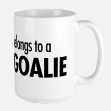 Heart belongs, goalie Mug