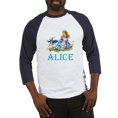 ALICE IN WONDERLAND - BLUE Baseball Jersey
