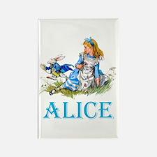 ALICE IN WONDERLAND - B Rectangle Magnet (10 pack)