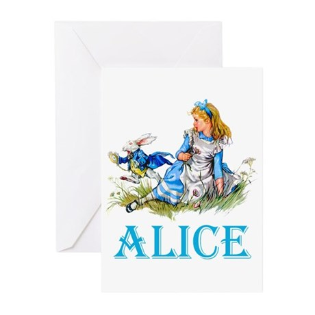 ALICE IN WONDERLAND - BL Greeting Cards (Pk of 20)