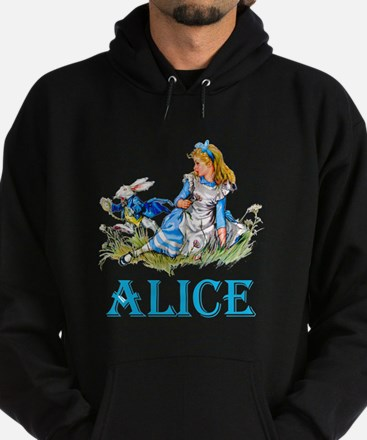 ALICE IN WONDERLAND - BLUE Hoodie (dark)
