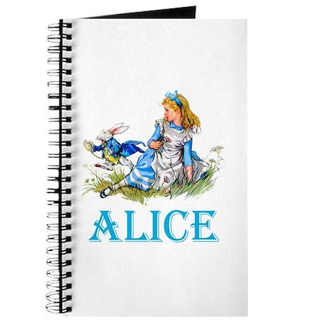 ALICE IN WONDERLAND - BLUE Journal