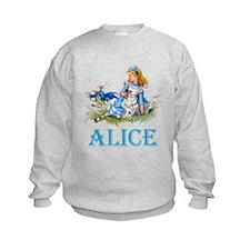 ALICE IN WONDERLAND - BLUE Sweatshirt