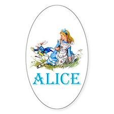 ALICE IN WONDERLAND - BLUE Decal