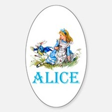 ALICE IN WONDERLAND - BLUE Decal