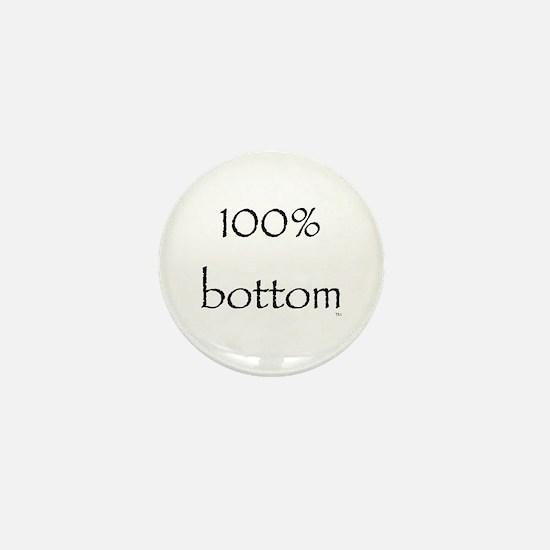 100% Bottom Mini Button