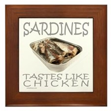 SARDINES Framed Tile