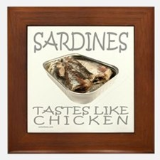 SARDINES Framed Tile