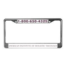 AIHT License Plate Frame