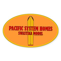 Pacific Systems Homes Oval Decal