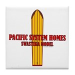 Pacific Systems Homes Tile Coaster