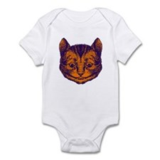 Cheshire Cat in Purple and Or Infant Bodysuit