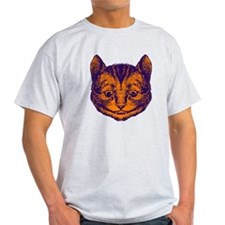 Cheshire Cat in Purple and Or T-Shirt