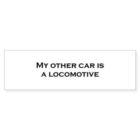 My Other Car is a Locomotive