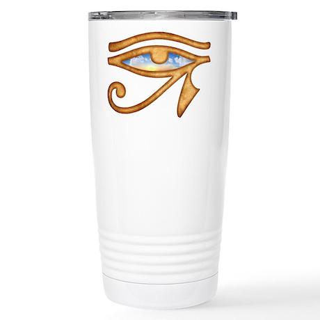Eye of Horus Stainless Steel Travel Mug