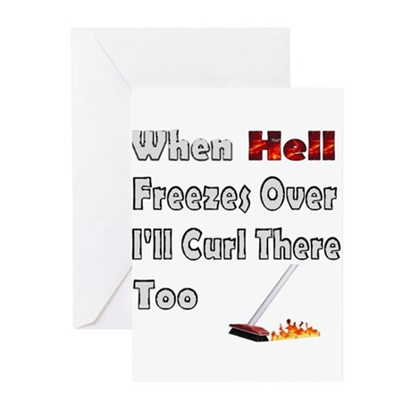 When Hell Freezes Over... Greeting Cards (Package