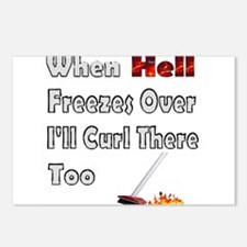 When Hell Freezes Over... Postcards (Package of 8)
