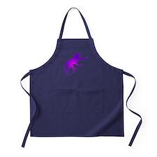 Tie Die Purple Monkey Apron (dark)