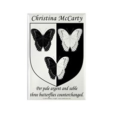 Christina McCarty's Rectangle Magnet
